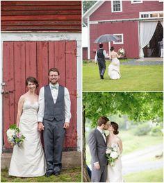 Barn Wedding Bride + Groom