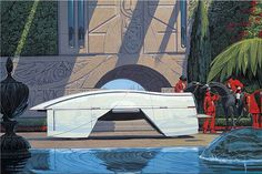 Syd Mead – Futurist, Utopian and Designer « Form Trends