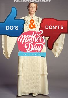 Mother's Day Gifts Do's & Don'ts for Moms who LOVE Star Wars!