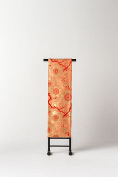 Japanese Kimono Cherry Rose Designed Double-woven Obi