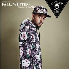 """Cayler & Sons neue Fall/ Winter Kollektion 2014 ab sofort bei SNIPES im Onlineshop sowie in ausgewählten Stores erhältlich. Wie wär's zum Beispiel mit dieser Jacke, passend zur neuen """"Paris"""" Cap. Die Snapback-Cap kostet 34,99 Euro (Art.Nr. 7006907). Die Jacke gibt's in den Größen: S - XXL für 79,99 Euro. (Art.Nr. 6041633)  #snipes #caylerandsons #streetwear #snipesknows"""