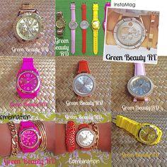 #Relojes #GreenBeautyRD Toda la variedad que deseas está en @GreenBeautyRD Pedidos/Precios por Whatsapp 809-907-2014