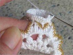 Horgolásról csak magyarul.: ANGYALKA RÉSZLETES LEÍRÁSSAL Crochet Angel Pattern, Crochet Angels, Christmas Angel Ornaments, Christmas Decorations, Photo Tutorial, Baby Sewing, Machine Embroidery Designs, Crochet Earrings, Blog