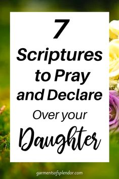 Prayer Scriptures, Bible Prayers, Prayer Quotes, Bible Quotes, Bible Verses, Powerful Scriptures, Prayers For My Daughter, I Love My Daughter, Daughter Quotes