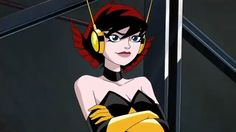"""Wasp is a female superhero. Her real name is Janet """"Jan"""" van Dyne, is a college student who works with Hank Pym at Greyburn College in New York City. She is one of the five founding members of the Avengers and the one who gave the group its name. Wasp Avengers, Marvel Avengers, Avengers Earth's Mightiest Heroes, Marvel Heroes, Vespa Marvel, Spiderman Girl, Janet Van Dyne, Hank Pym, Comic Book Girl"""