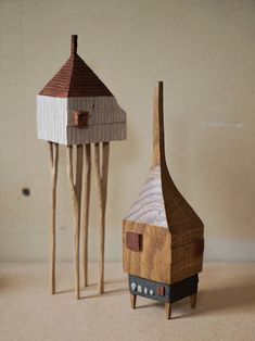Charming homes and treehouses. Tour: Wood Artist Yukihiro Akama | Design*Sponge