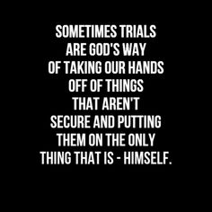 In this world you will have trials of many kinds, but take heart! Bible Quotes, Bible Verses, Me Quotes, Faith Quotes, Trials Quotes, Qoutes, Godly Quotes, Scripture Study, Great Quotes