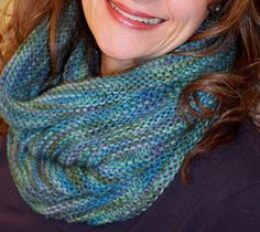 With a Grateful Prayer and a Thankful Heart: Knitted Cowl
