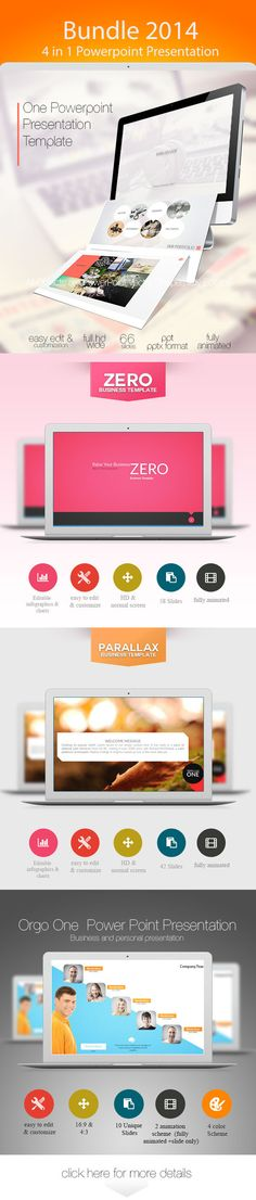 One Power Point Presentation Template (Powerpoint Templates) Power
