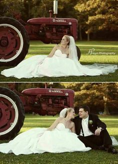 Get Help Planning Your Perfect Wedding Day Tractor Wedding, Farm Wedding, Dream Wedding, Wedding Dreams, Cute Wedding Ideas, Wedding Pictures, Perfect Wedding, Destination Wedding, Wedding Planning