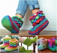 chaussettes chaussons crochet chaussons tricots crochet crochet pantouffle mode en elisabete crochet vetement tricot etc tricot enfant