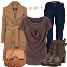 Freizeit Outfits: ElegantInBrown bei FrauenOutfits.de I Love You Baby, Casual Elegance, Modest Fashion, Candy, Elegant, Clothes, Style, Boots, Pants
