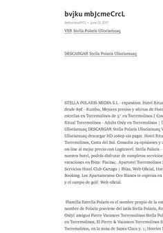 Gratis Descargar Stella Polaris Ulloriarsuaq Películas gratuitas Subtítulos en español