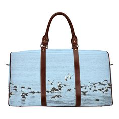 Mallard Drake Custom Waterproof Travel Tote Bag Duffel Bag Crossbody Luggage handbag