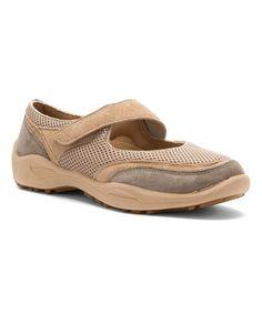 Taupe Lydia Walking Shoe