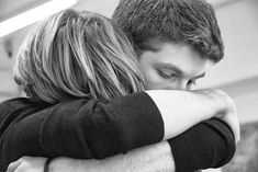 Hug cute sad couple love black and white on We Heart It Most Beautiful Images, I Love You, My Love, Love Couple, Human Body, Firefighter, We Heart It, Things To Come, Romance
