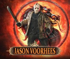 With the DLC of Freddy to the universe of Mortal Kombat, I have edited some made up pictures for some other DLC to the MK franchise too. The edited DLC I have created are: Jason Voorhees Blade Ash ... Mortal Kombat, Horror Art, Horror Movies, Jason Voorhees, Friday The 13th, Comic Strips, Savage, Les Oeuvres, Coloring Books