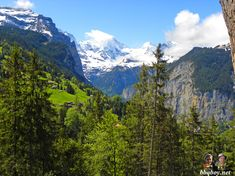 Great hikes and stunning views in Lauterbrunnen and the Berner Oberland, Switzerland