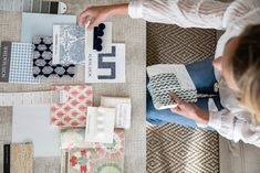 Photography of fabric swatches for interior designer Emma Stroop by Andy Ryan Interior Design Photography, Photography Gallery, Connecticut, Office Desks, Fabric Swatches, Architecture Design, How To Plan, Future, Inspiration