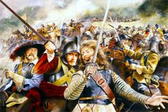 """For King and Country"" Cavalier Royalists during the English Civil War- by Chris Collingwood"