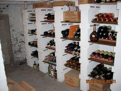 Ma bonne vieille cave - - Vous avez aménagé vous-même votre cave à vin