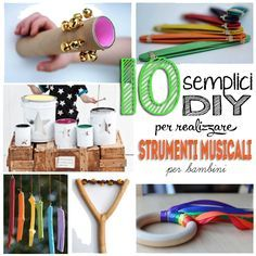 Strumenti musicali da fare in casa fai da te Home made instruments DIY