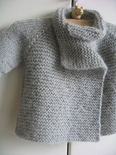 Baby's cardigan in Rowan Kid Classic. Love the soft, cozy look.