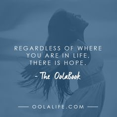 No matter what you have done, or failed to do, you are worthy of more: http://www.oolalife.com/store/oola-hardcover-book