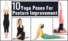 Top 10 Yoga Poses For Posture Improvement