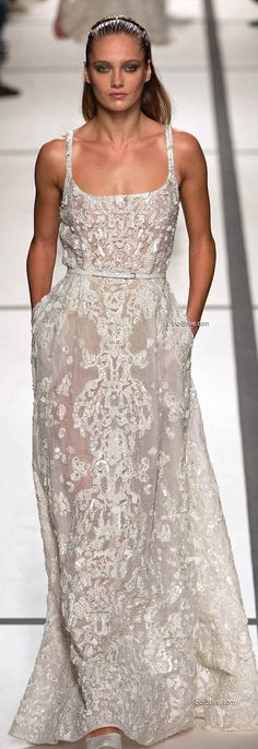 Elie Saab Spring 2014 Ready to Wear Paris Fashion Week
