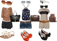 Chill Summer Outfits #2, created by kayluhn on Polyvore