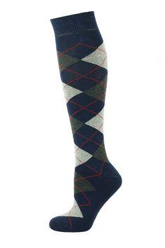 https://www.mysocks.co.uk/knee-high-socks-argyle-brown-selection.html