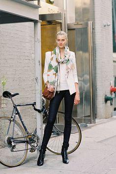 Vanessa Jackman: New York Fashion Week SS 2013....Sigrid