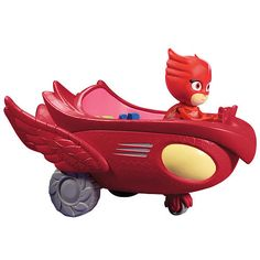 """PJ Masks Vehicles - Owlette and Owl Glider - Toys""""R""""Us"""