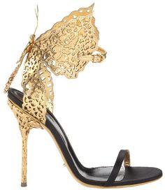 Butterfly heel by Sergio Rossi