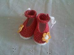 #zapatos #crochet #tejidos #bebe