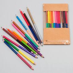 2色 色鉛筆
