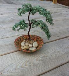 bonsai tree by ninasoriginals on Etsy