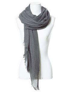scarf season! #zara #grey  #scarf