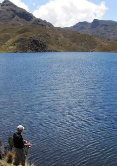 My dad loved fishing the lakes high in the mountains. He'd hike in, spend the day fishing and hike back out. Sometimes I'd go with him--when I wasn't too lazy. LoL. Fishing in Ecuador! Great article.