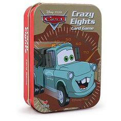 Disney Pixar Cars Crazy Eights Card Game
