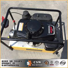 double action hydraulic power pack powered by honda GXV 160 gasoline engine