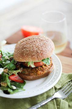 Healthy Veggie Burgers - Healthy Veggie Burgers, sweet potato veggie burgers, veggie burgers