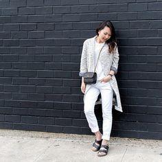 Pin for Later: Die 10 coolsten Ideen für Pullis und Sweatshirts Lange, oversized Cardigans