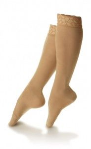 Proper selection and sizing of compression hosiery can be confusing, but both are essential for control of edema and management of more serious vascular conditions in patients with diabetes. Compression Hose, Compression Stockings, Left Eye Twitching, Support Socks, Orthopedic Shoes, Varicose Veins, Feet Care, Hosiery, Ballet Shoes