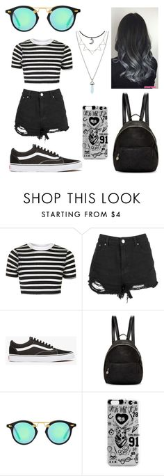 """Untitled #72"" by gimevelazquez on Polyvore featuring Topshop, Vans and STELLA McCARTNEY"