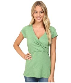 Toad&Co - Empirical S/S Tee (Agave) Women's Short Sleeve Pullover