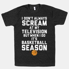 Basketball Season #basketball #NBA #fan