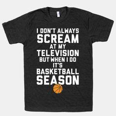 Basketball Season #basketball #NBA #fan