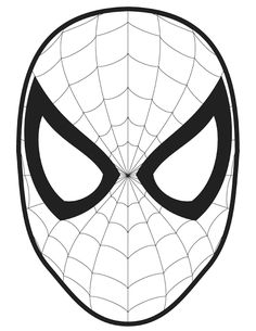 spiderman logo coloring pages printable and coloring book to print for free. Find more coloring pages online for kids and adults of spiderman logo coloring pages to print. Coloring Pages To Print, Printable Coloring Pages, Coloring Pages For Kids, Coloring Books, Spiderman Pumpkin Stencil, 3d Zeichenstift, Spiderman Face, Superhero Spiderman, Spiderman Spider